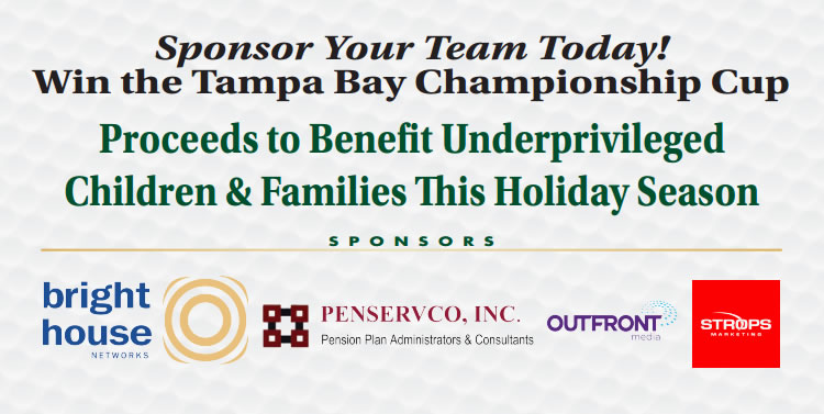 Cup Challenge 2016 Sponsored by Bright House, Penservco, Outfront Media, Strops Marketing, and the Tampa Bay Tribune